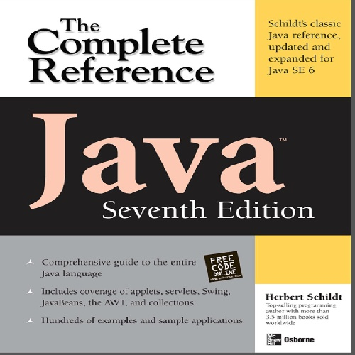 فایل کتاب لاتین Java The Complete Reference, 7th Edition